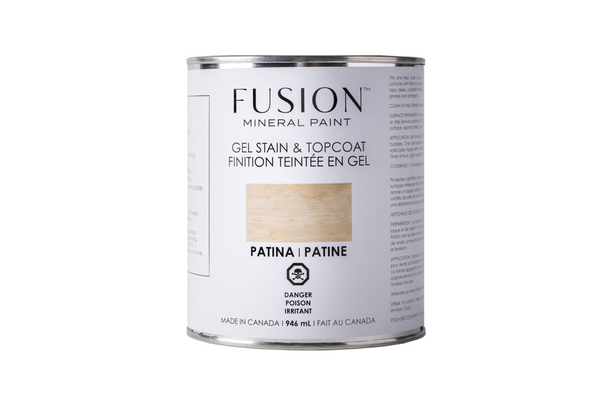 Fusion Gel Stain and Top Coat - Fusion Mineral Paint - IN STORE PURCHASE ONLY