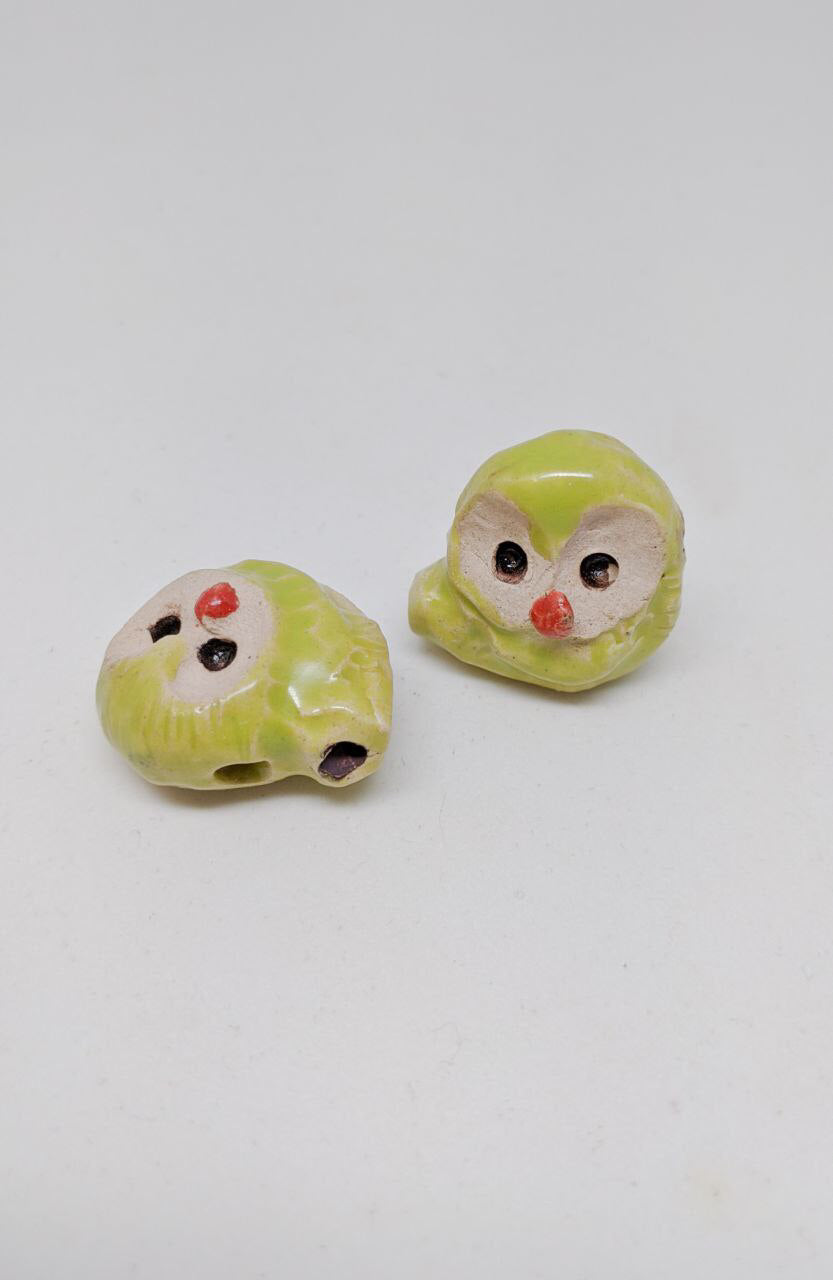 Cute Owl Whistle | Elegant Ceramic Whistles | Asian Pottery
