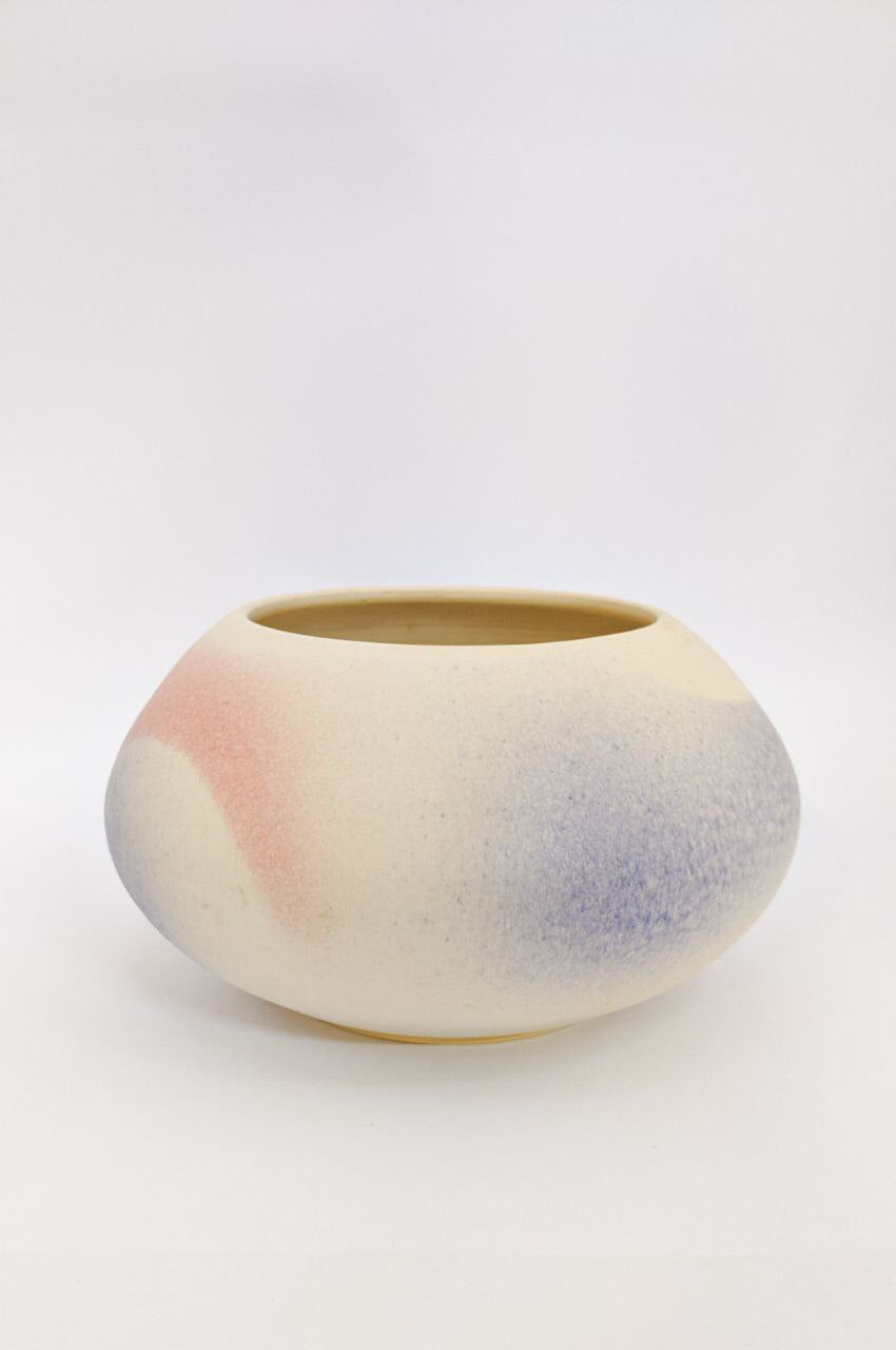 Pastel Glaze Pot | Elegant Ceramics | Asian Pottery