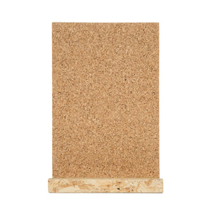 Cork Board and OSB Shelf