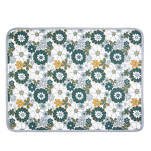 Load image into Gallery viewer, Retro Daisy Organic Cotton Baby Blanket with Personalised Option