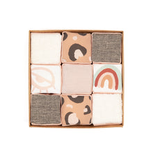 Load image into Gallery viewer, Personalised Nude Pink Sensory Alphabet Blocks - SOLD AS SINGLE BLOCKS