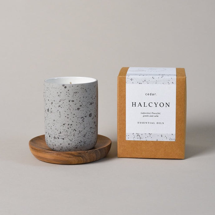 Halcyon Stoneware Candle 155ml
