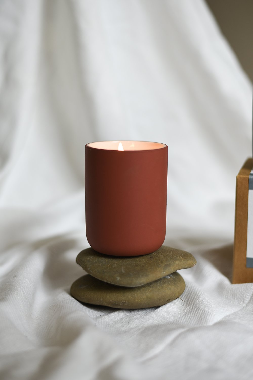 Sustainable Stoneware Candle