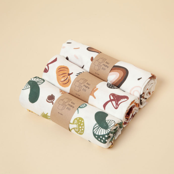Large Organic Cotton Muslin Square
