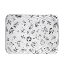 Load image into Gallery viewer, Space Age Baby Blanket with Personalised Option