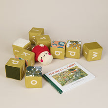 Load image into Gallery viewer, Avocado Sensory Alphabet Blocks - Set of 9