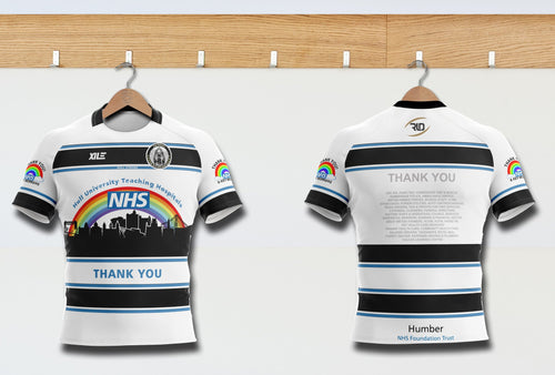 Mighty Black and Whites Charity Jersey - Limited Edition