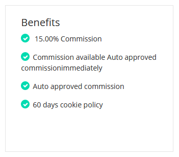 Affiliate Program Benefits