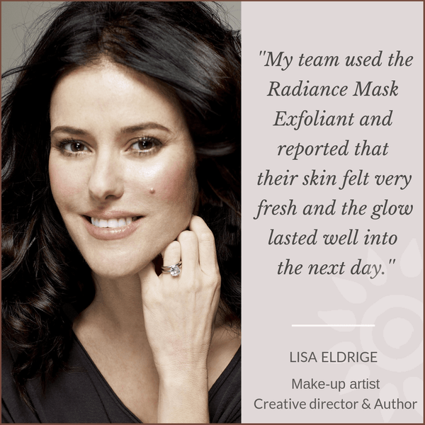 Lisa Eldrige Make-up artist Creative director and author loves Mauli rituals, ayurveda inspired Beauty Brand