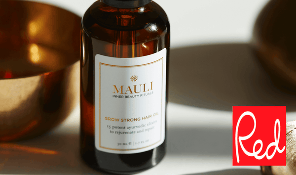Grow Strong Hair Oil featured on Red Magazine online
