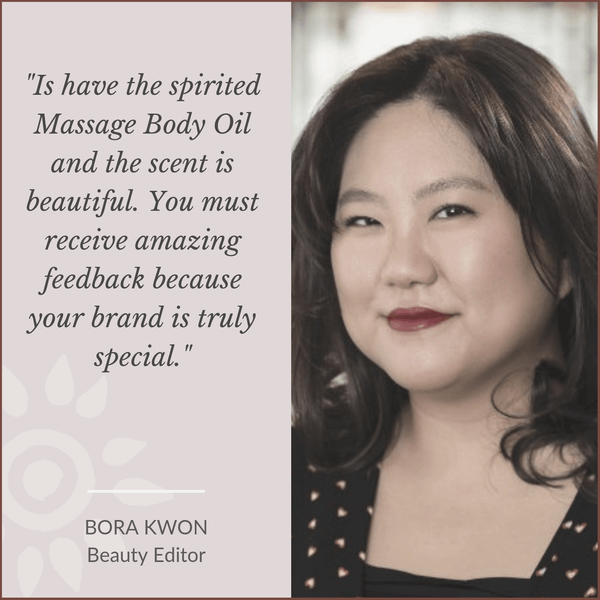 Bora Kwon Beauty Editor loves Mauli rituals, ayurveda inspired Beauty Brand