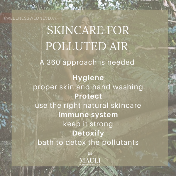 Anti-Pollution Ayurveda skincare and lifestyle tips