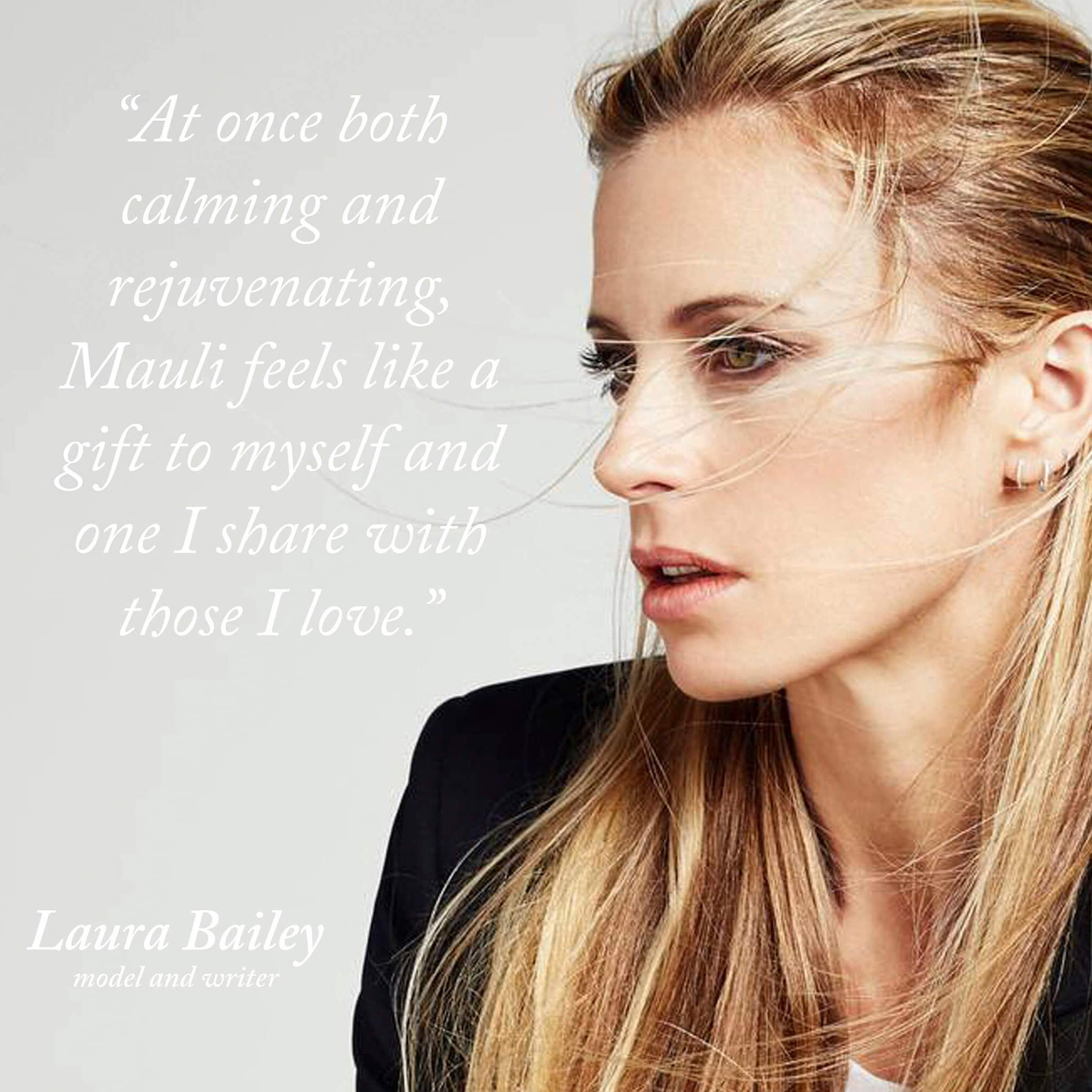 Laura Bailey | Mauli Love