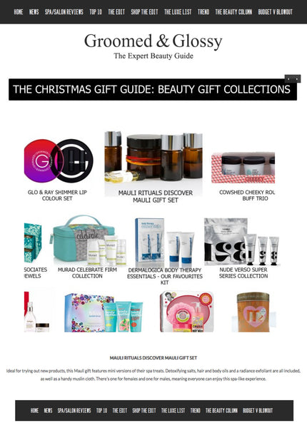 Mauli Discover Gift Set in the groomedandglossy.com Christmas Gift guide