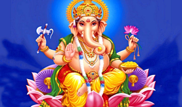 Ganesh, remover of obstacles and harbinger of auspicious beginnings.