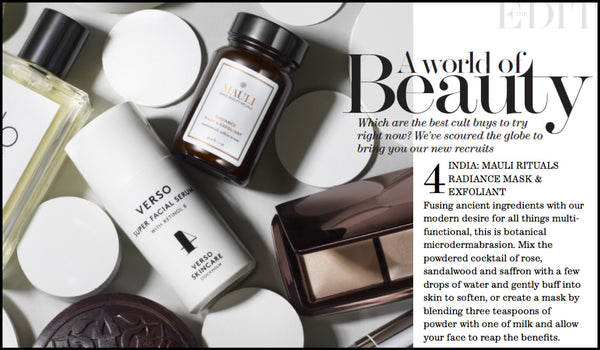 Mauli Radiance Mask and Exfoliant in Net A Porter The Edit
