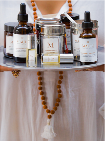 all natural beauty brand based on Ayurveda
