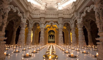 Mauli Rituals loves the Swaminarayan Temple, London