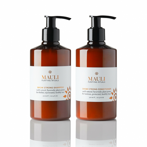 Grow Strong Shampoo & Conditioner to restore healthy hair