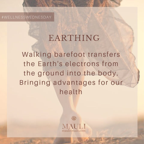 How walking barefoot help balance your dosha