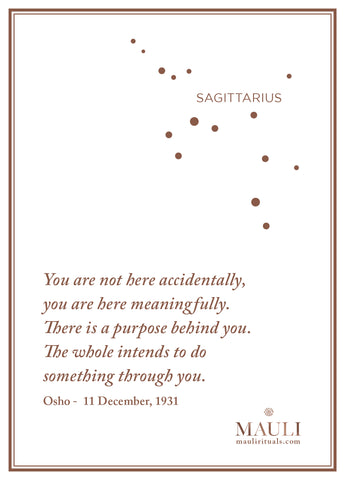 Mauli wishes all Sagittarians a fab month and a great year ahead