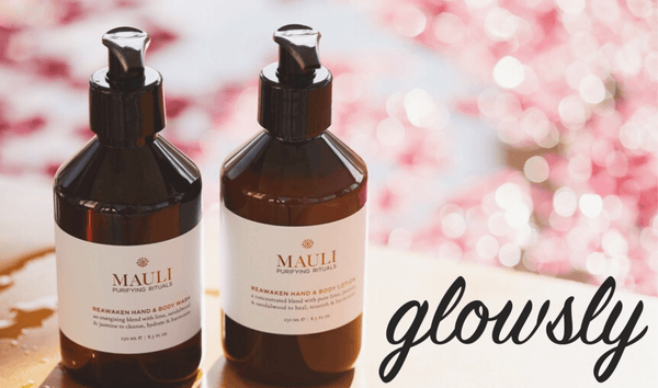 Glowsly Press Mauli Rituals Reawaken Hand & Body Wash and Lotion