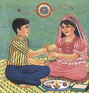 Mauli marks Raksha Bandhan, the sacred thread that connects us. www.maulirituals.com