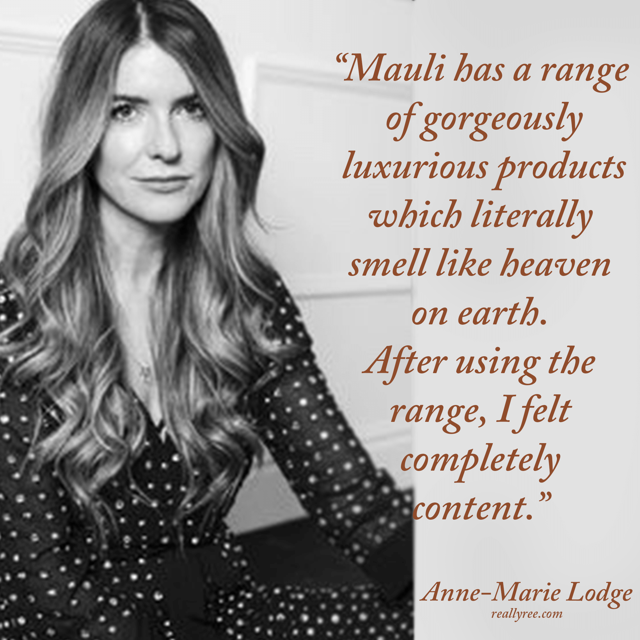 Anne- Marie Lodge | Mauli Love