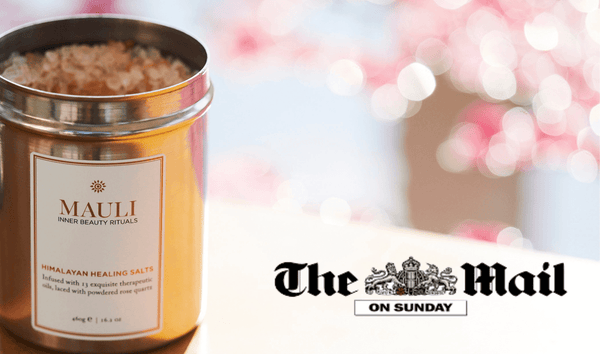 Himalayan Healing Salts featured in The Daily Mail