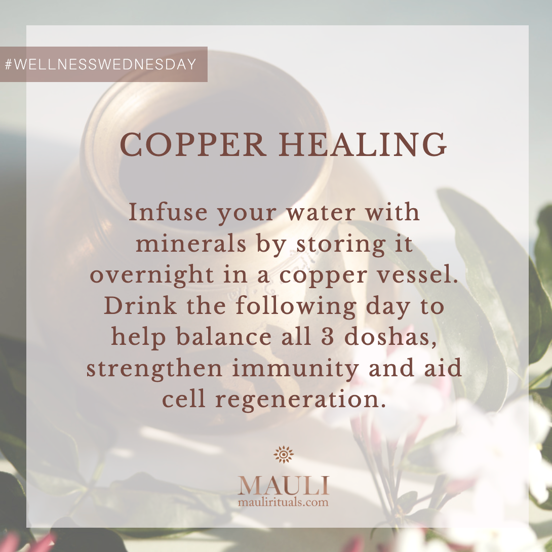 Copper Healing benefits