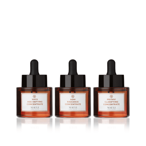 The biodynamic brilliance of concentrated Co2 extracts and organic oils in 3 skin-specific boosters to deliver transformative results