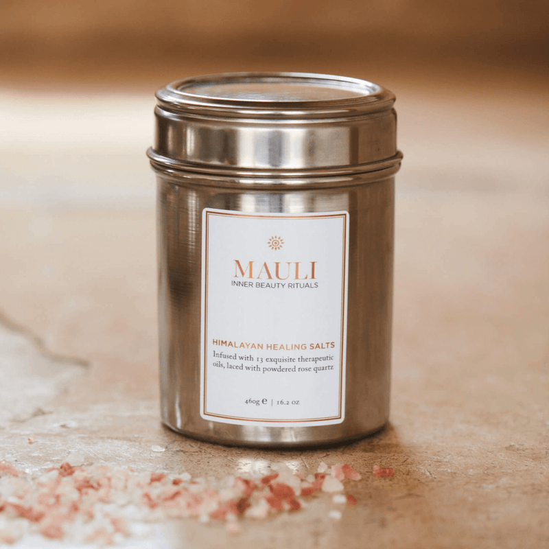 Himalayan Healing Bath Salts made of 13 therapeutic oils