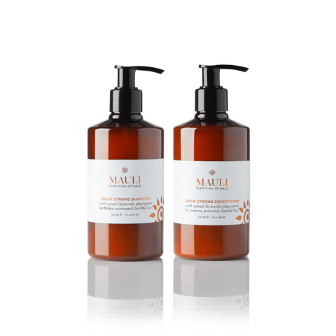 Grow Strong Shampoo & Conditioner | Mauli Rituals
