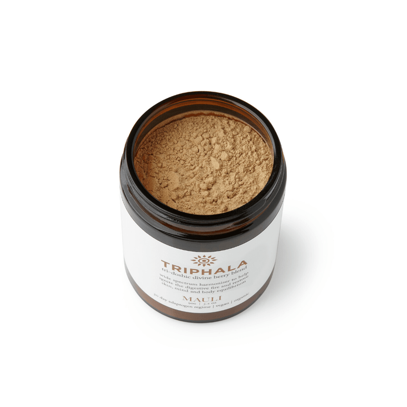 Organic Triphala Booster tro restore skin, hair, body and nails balance
