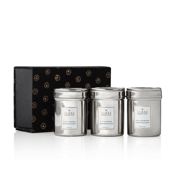 Luxury Gift Of 3 Herbal Ayurvedic Infusions