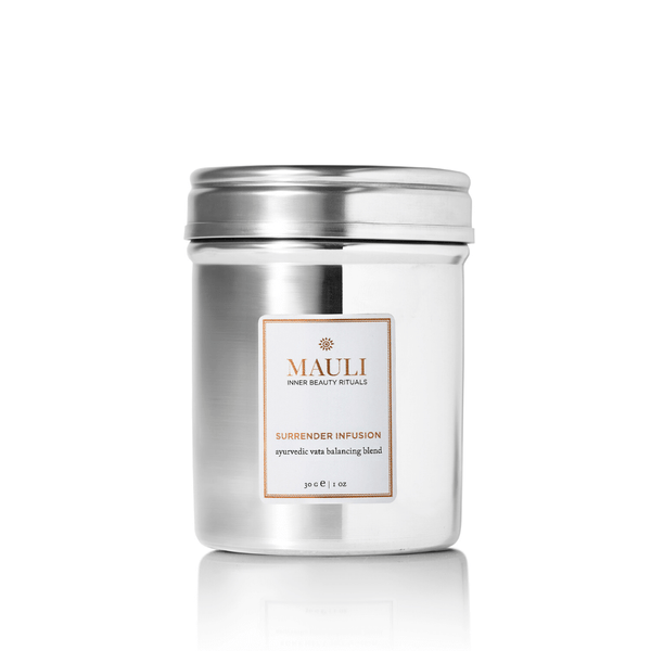 A calming, detoxifying bouquet of sencha and gunpowder green tea, fog tea, pai mu tan, jasmine, rosebuds, marigolds and cornflower blossoms combine to release emotional and physical toxins, encourage clarity and calm for a restful sleep.