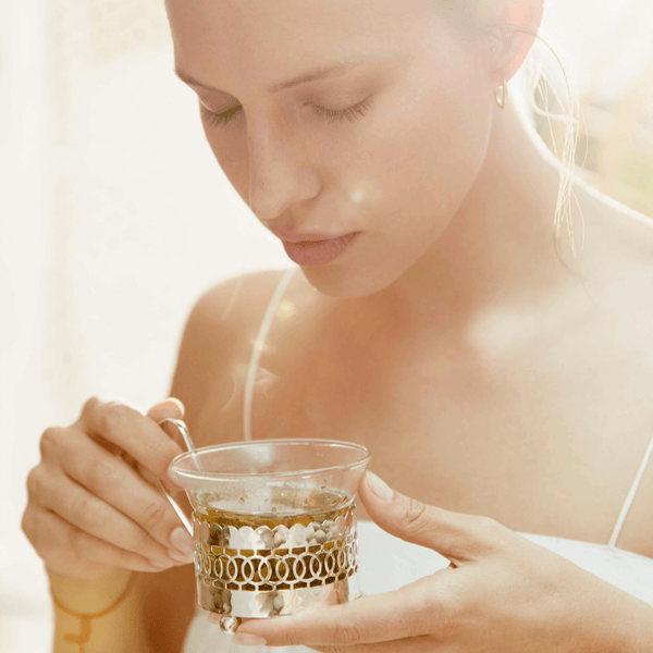 Fair-trade ayurvedic loose herbal infusion