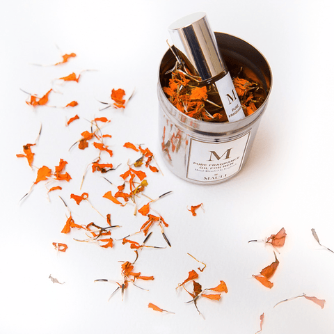 M. Fragrance With Celebratory Marigolds