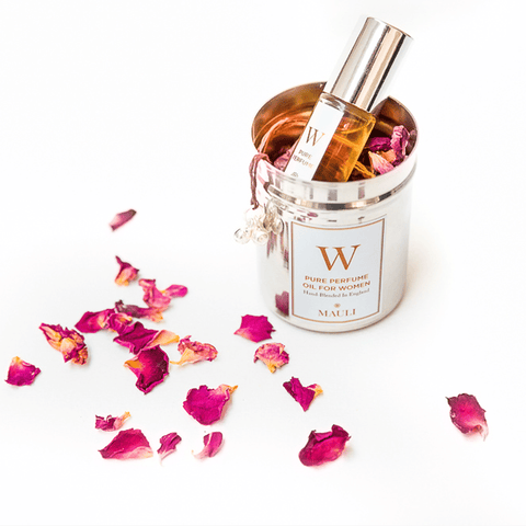 W. Perfume With Temple Blessed Roses