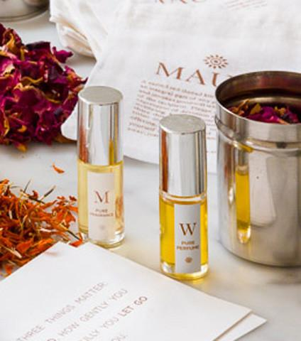 W. Perfume With Temple Blessed Roses For Women | Mauli Rituals