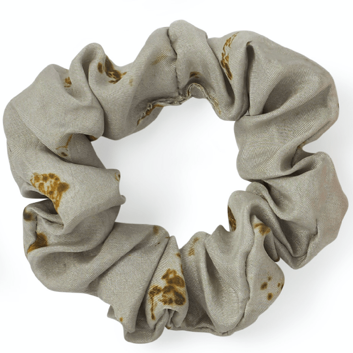 Temple Blessed, Pure Silk Scrunchies, Set Of Six