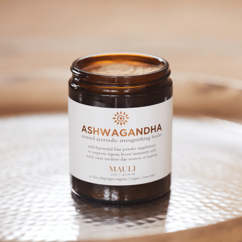 Organic Ashwagandha Adaptogen Booster to Ease Stress Inspired by Ayurveda