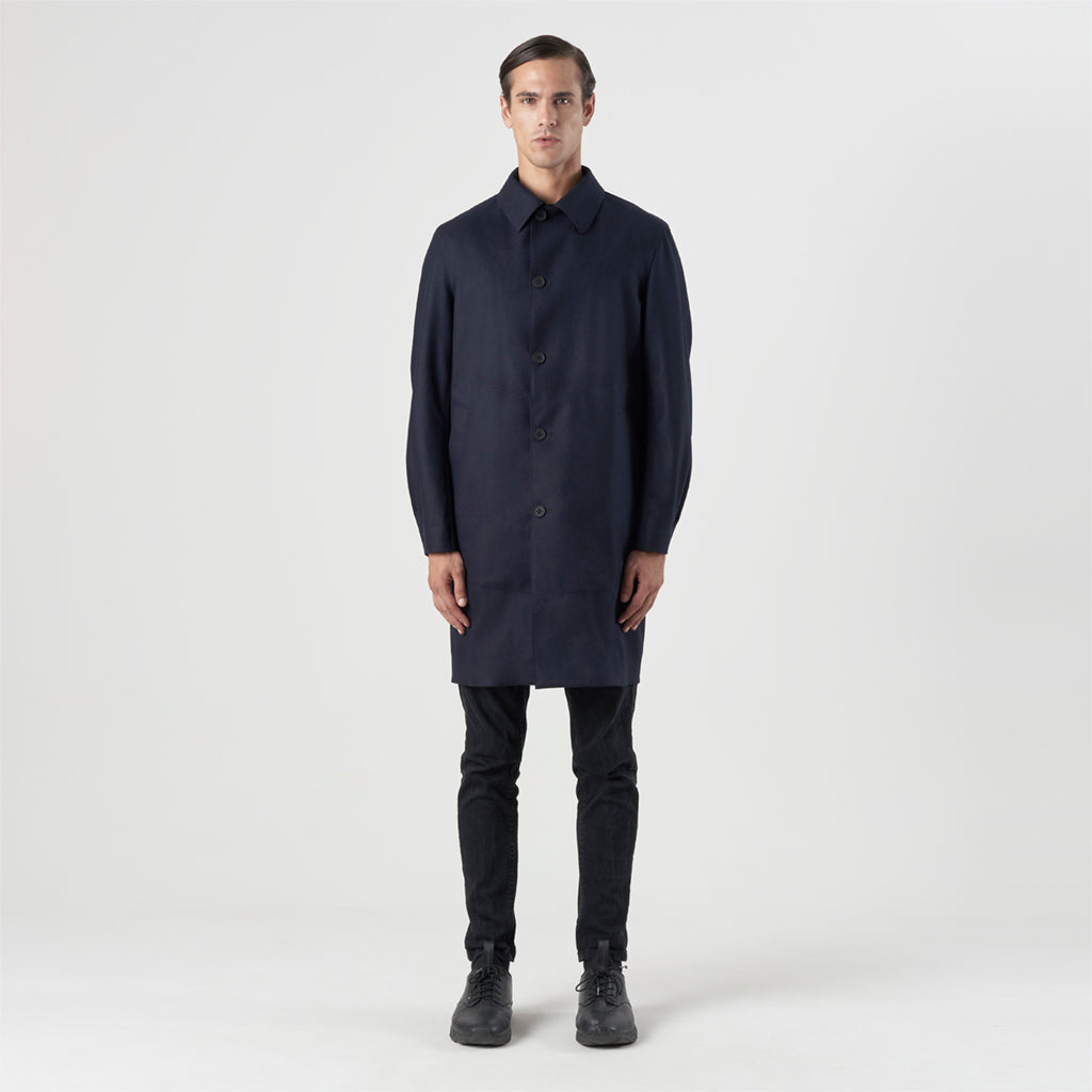 TECH WOOL RAINCOAT
