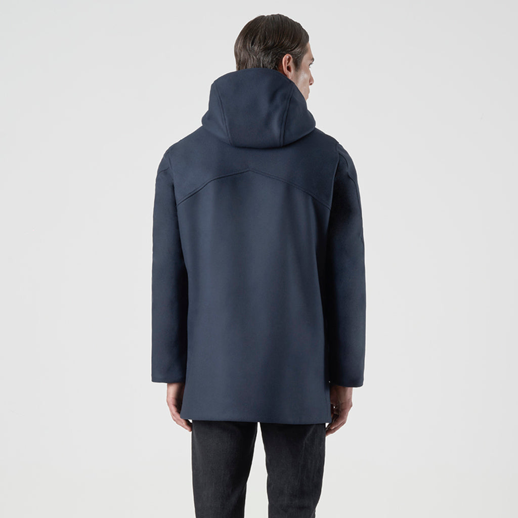 SCUBA WOOL DUFFLE COAT