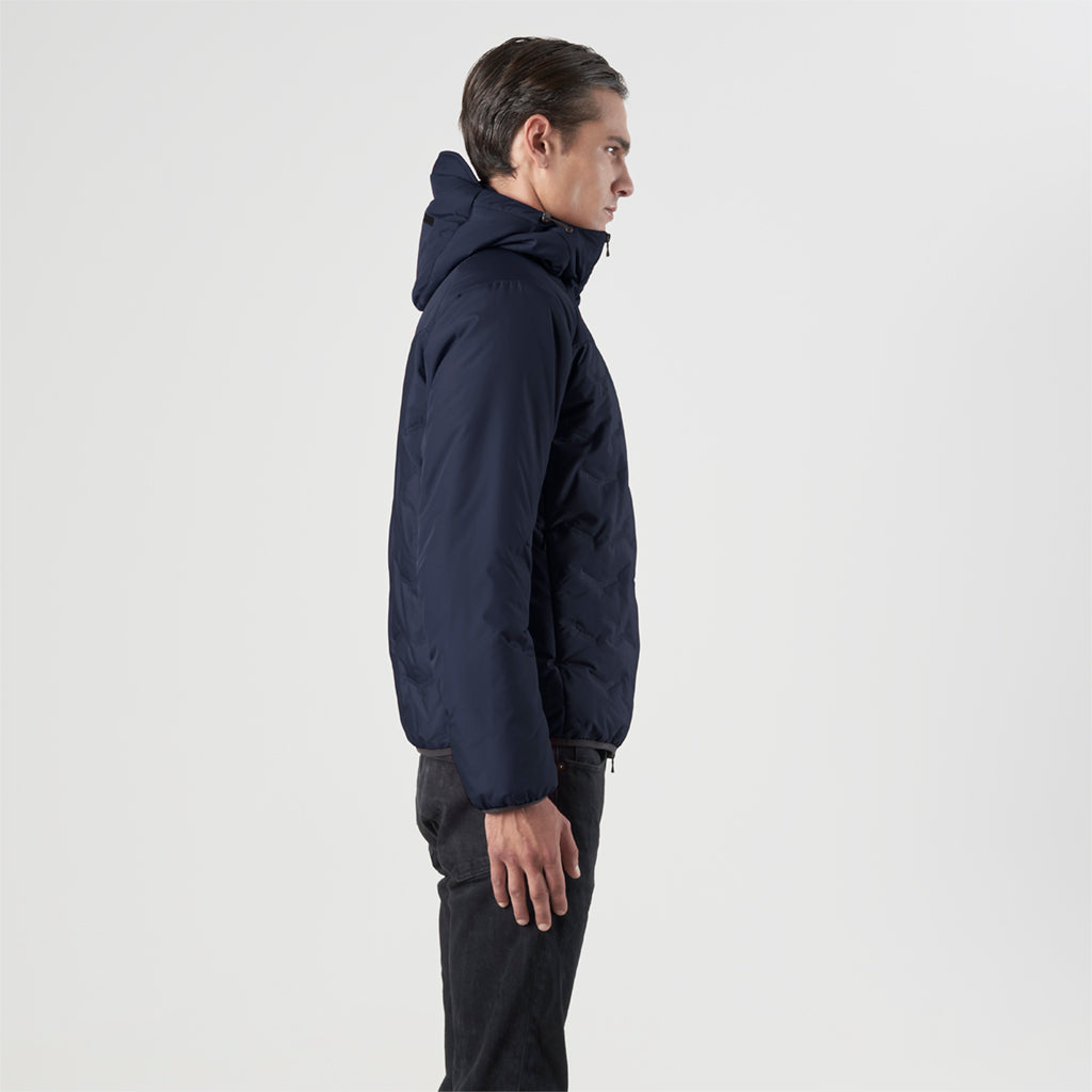 ECO ULTRASONIC PADDED HOODY JACKET