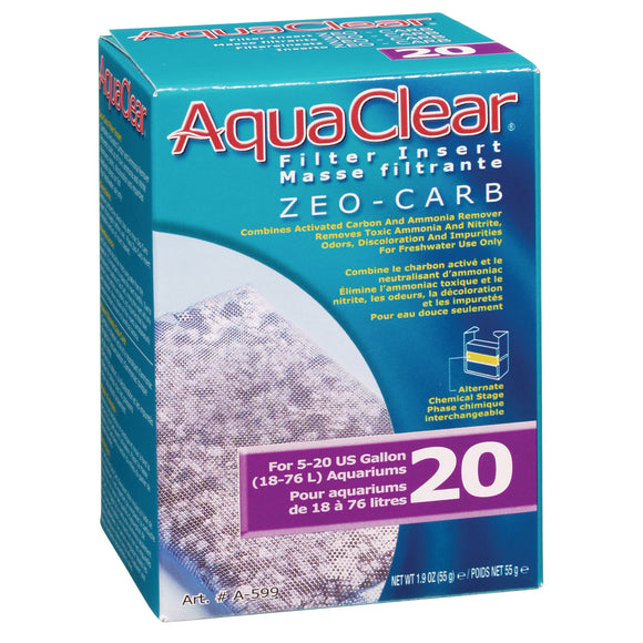 AquaClear 20 (Mini) Zeo-Carb