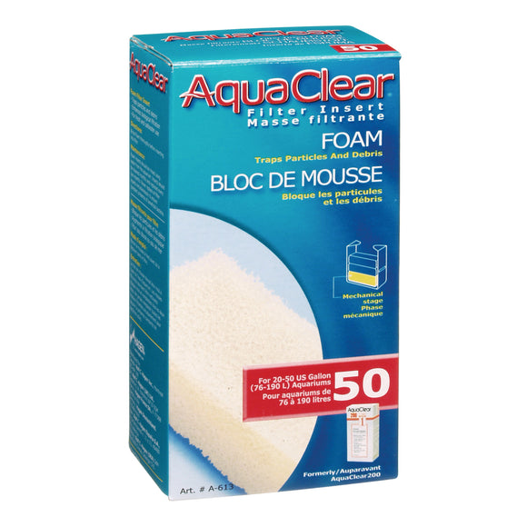 AquaClear 50 (200) Foam Filter Insert