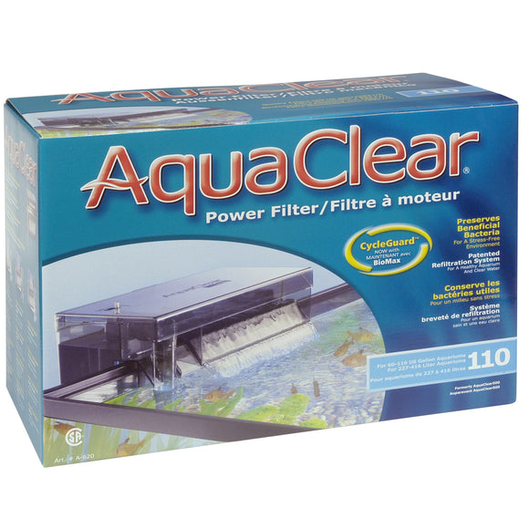 UL AquaClear 110(500) Filter w/ Media