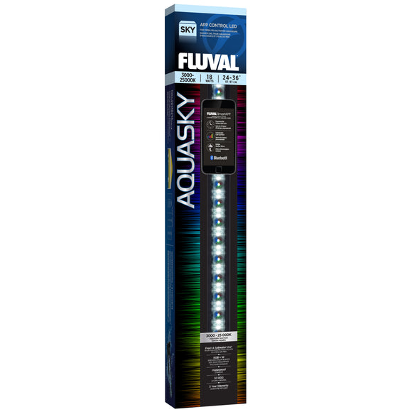 Fluval AquaSky LED 2.0 (RGB+W), 18w 24-34